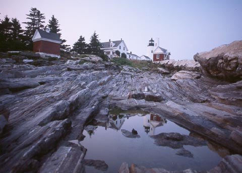 Pemaquid Point LightHouse Courtesy: cyberlights.com